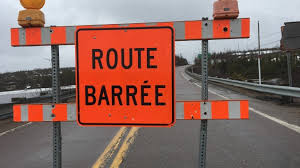 images route barree